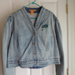 Apple Bottoms Dungaree  Jacket  Size 1X