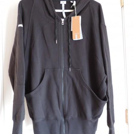 """Adidas – """"Stella McCartney"""" Black Hooded Jacket Size M NEW"""