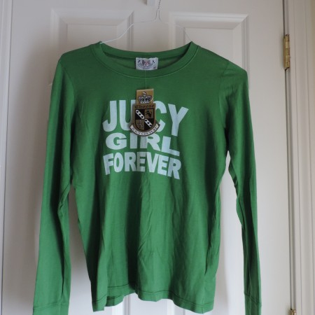 Juicy Couture Green L/s Shirt Size XL NWT