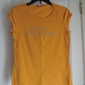 Apple Bottoms Gold Short Sleeve T-shirt Size XL