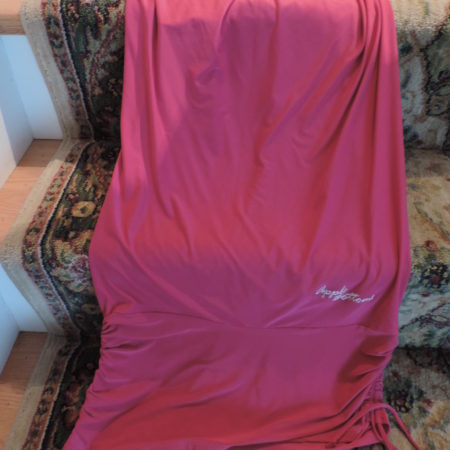 Apple Bottoms Pink Tunic Halter Dress Size XL NEW