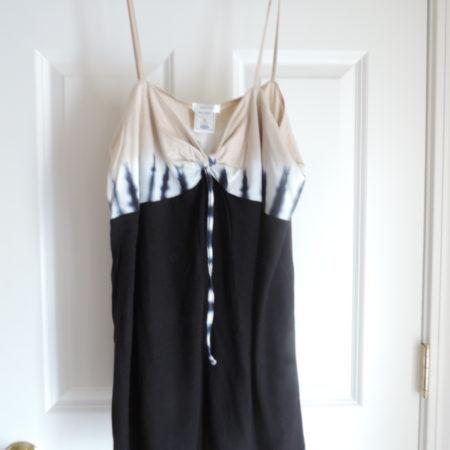 Tie-Dye Navy/beige Camisole Size XL NEW