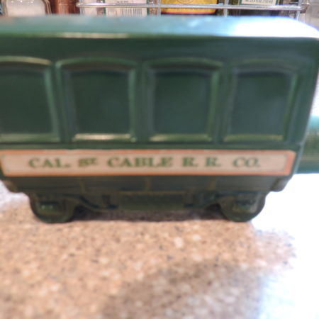 """Avon """"Cable Car"""" W/ Wild Country Aftershave In It Vintage"""