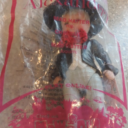 "McDonald's ""Madame Alexander Doll""  #2 Mad Hatter NEW"
