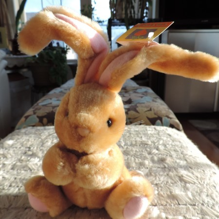 "Easter Bunny ""Carrot"" 9″ High NWT"