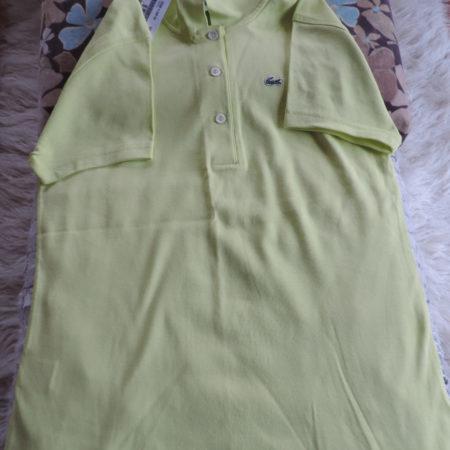 Lacoste Cotton Lime Polo Shirt NWT Size 46/14