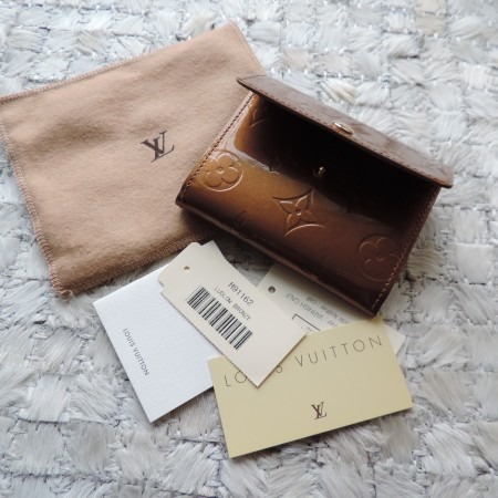 "Louis Vuitton ""Ludlow"" Bronze Color Small Wallet NWR"