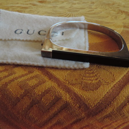 Gucci Bracelet Sterling Silver — Click Lock On The Side