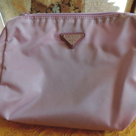 Prada (confetto) Light Pink/lavender (vela) Bag NW/ID Card