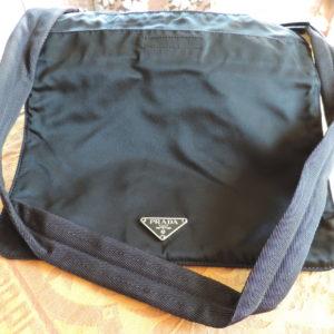 Prada Black (nero) Tessuto Sport) Bag NW/IDcard