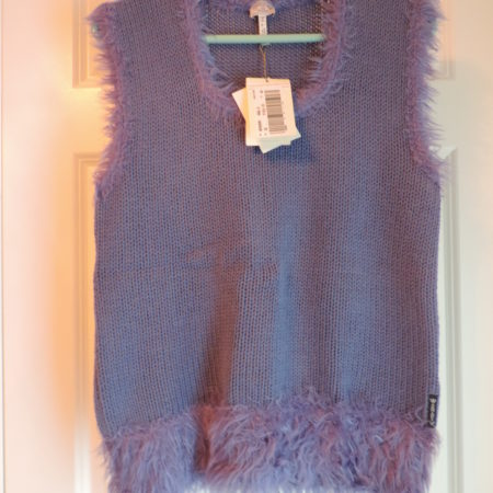 Armani  Exchange Shell Sweater Purple Size 48/14 NWT