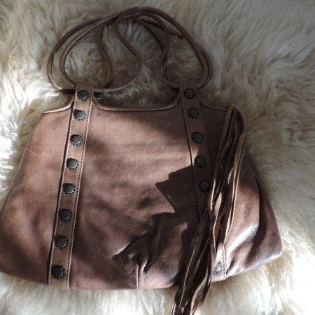 Marni Handbag Brown Leather NWT